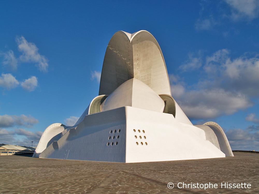 Auditorium - Architecte Santiago Calatrava Valls, Santa Cruz de Tenerife, Tenerife