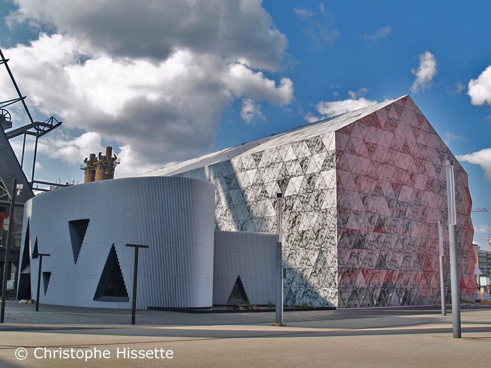 Luxembourg Learning Centre, Bibliothèque Universitaire - Architecte Valentiny HVP, Belval, Esch-sur-Alzette