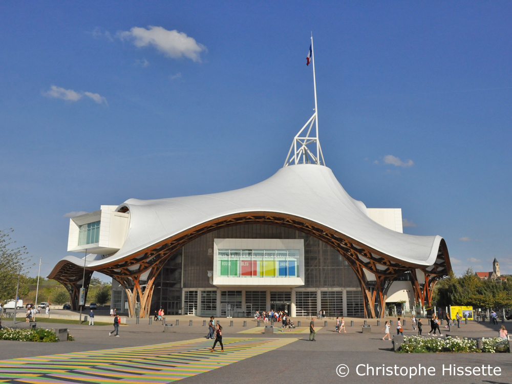 Centre Pompidou - Architectes Shigeru Ban, Jean de Gastines, Philip Gumuchdjian, Metz