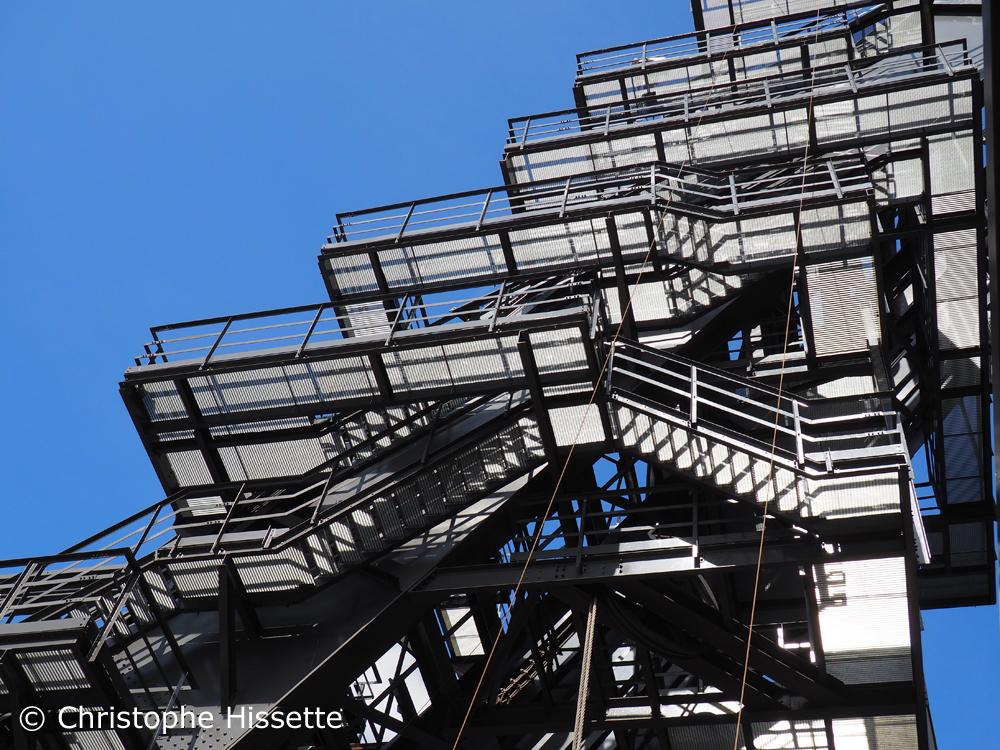 Escalier du haut-fourneau, Belval, Esch-sur-Alzette