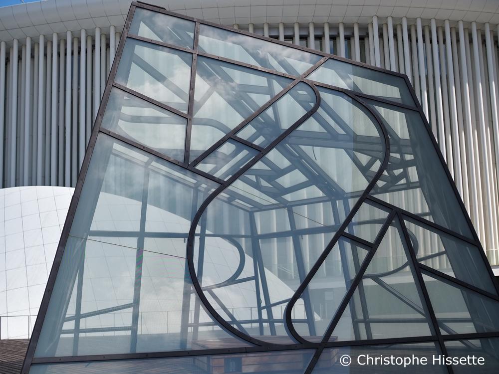 Glass of the Mudam, Kirchberg, Luxembourg City