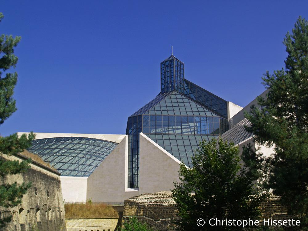Mudam Luxembourg - Musée d'Art Moderne Grand-Duc Jean - I. M. Pei Architect Design, Luxembourg-Ville
