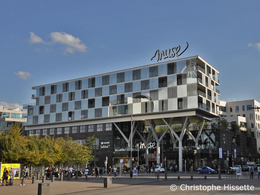 Muse - Architecte Jean-Pierre Viguier, Metz