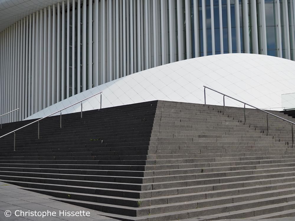 Philharmonie Luxembourg - Architecte Christian de Portzamparc, Kirchberg, Luxembourg-Ville