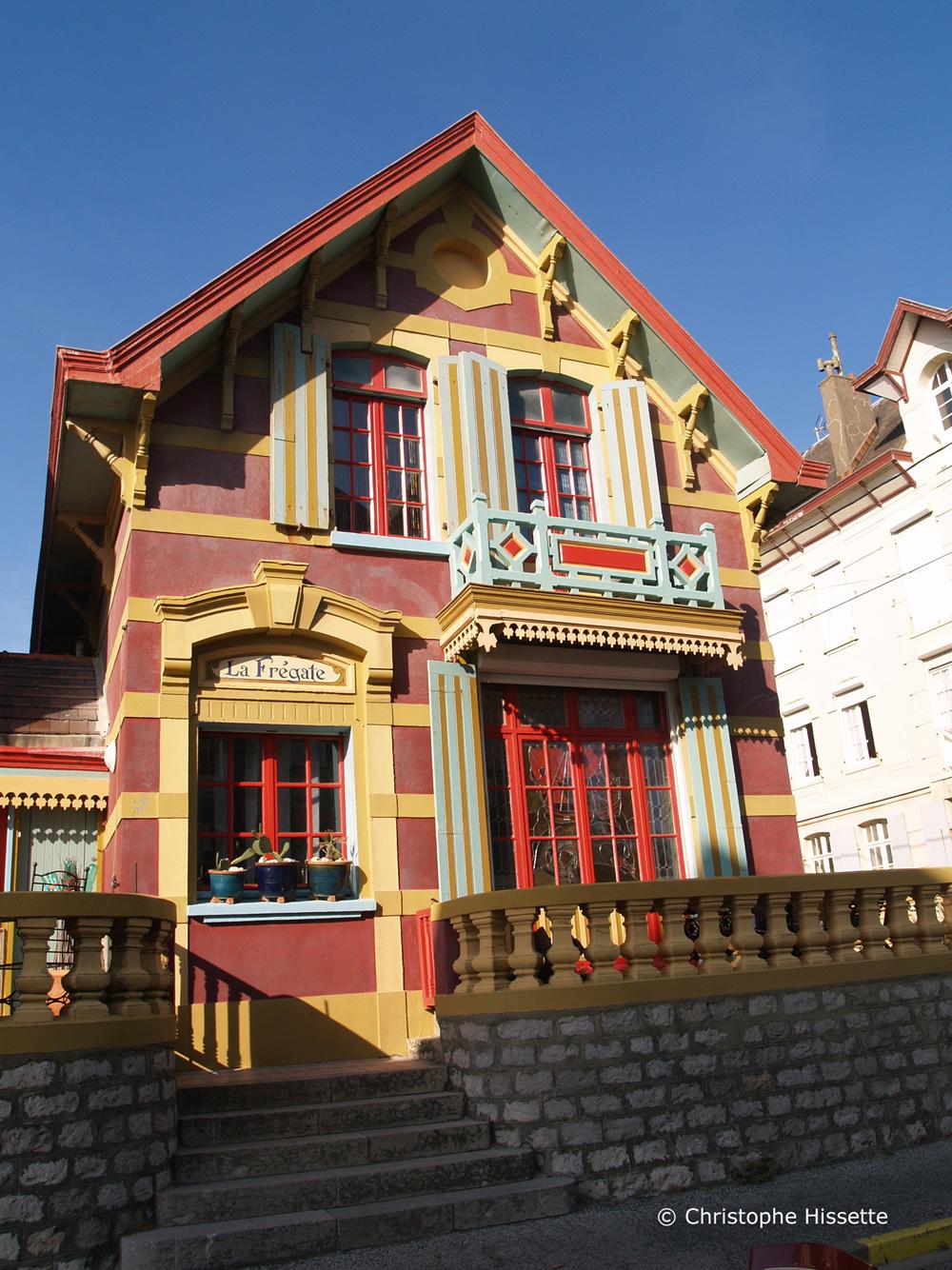 Villa La Frégate à Wimereux Côte d'Opale France