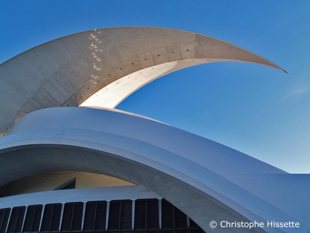Auditorium - Architect Santiago Calatrava Valls, Santa Cruz de Tenerife, Tenerife