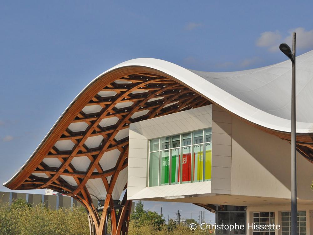 Centre Pompidou - Architects Shigeru Ban, Jean de Gastines, Philip Gumuchdjian, Metz