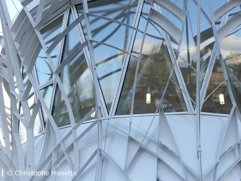 New bus station - Architect Valentiny HVP, Remich