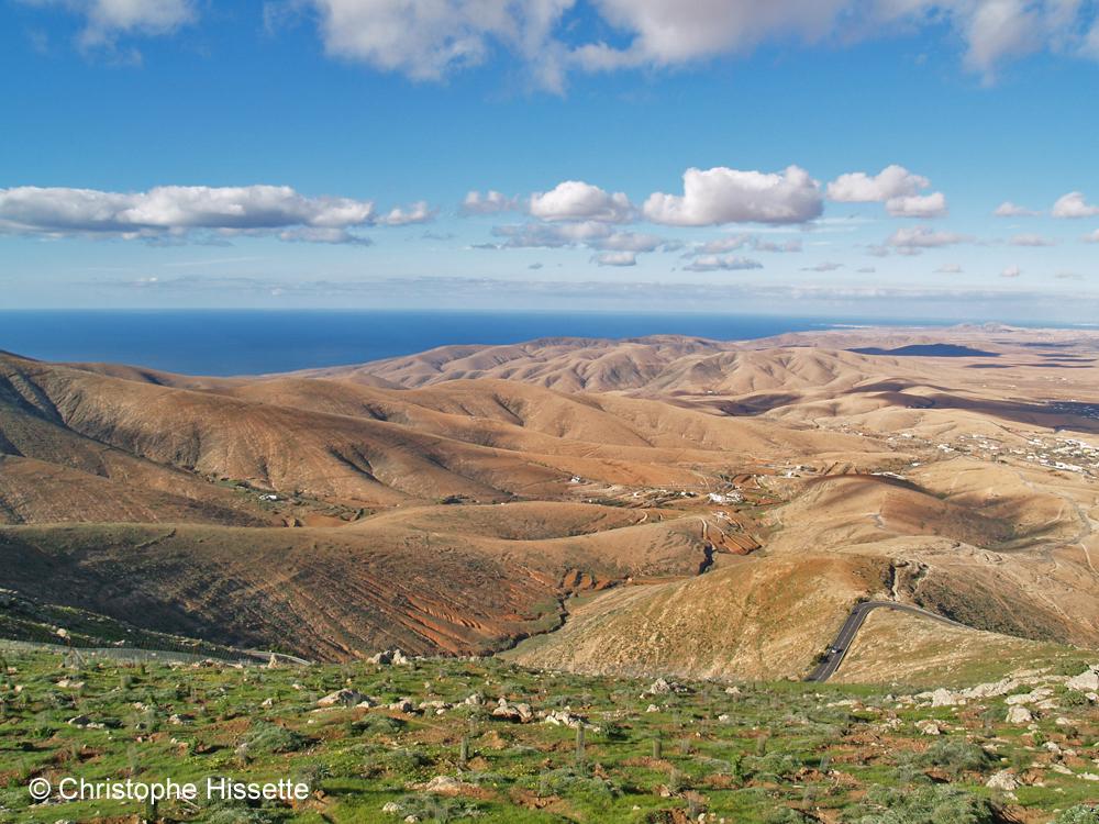 Vue du Mirador de Morro Velosa, Fuerteventura