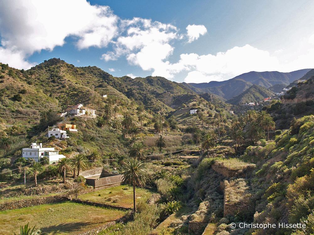 Vallehermoso gardens La Gomera