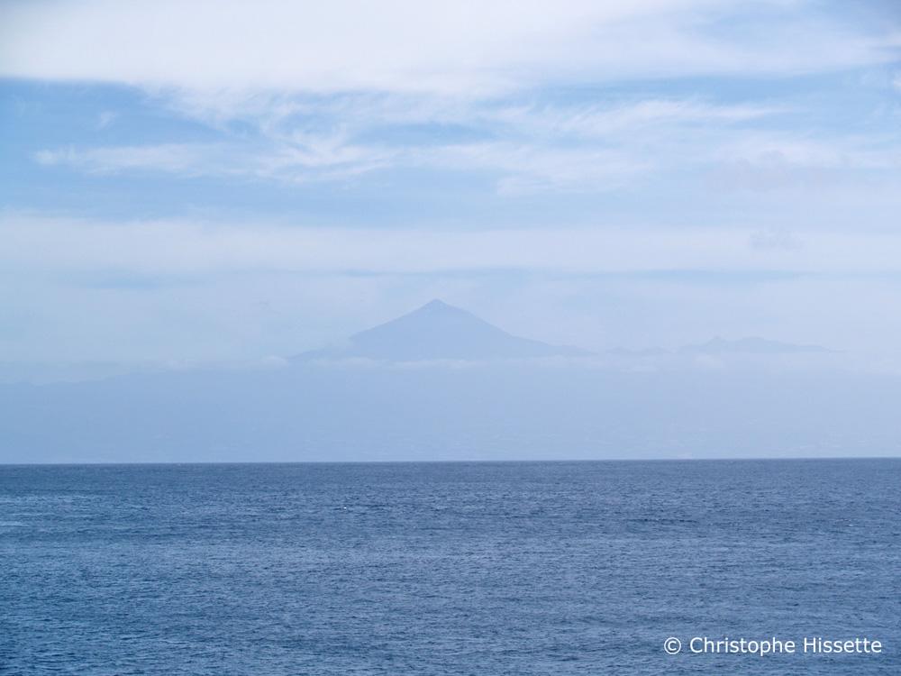 Teide mirage La Gomera
