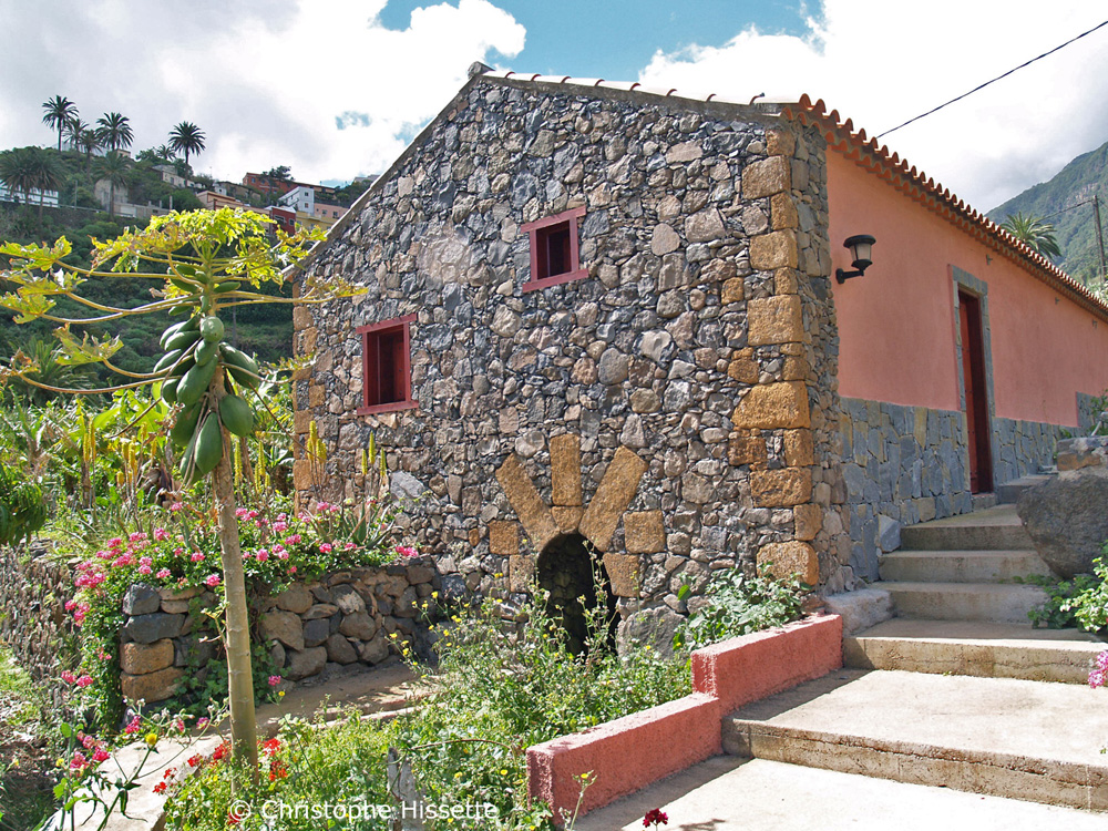 Typical house La Gomera