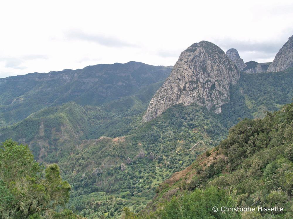 Monumento natural de los Roques La Gomera