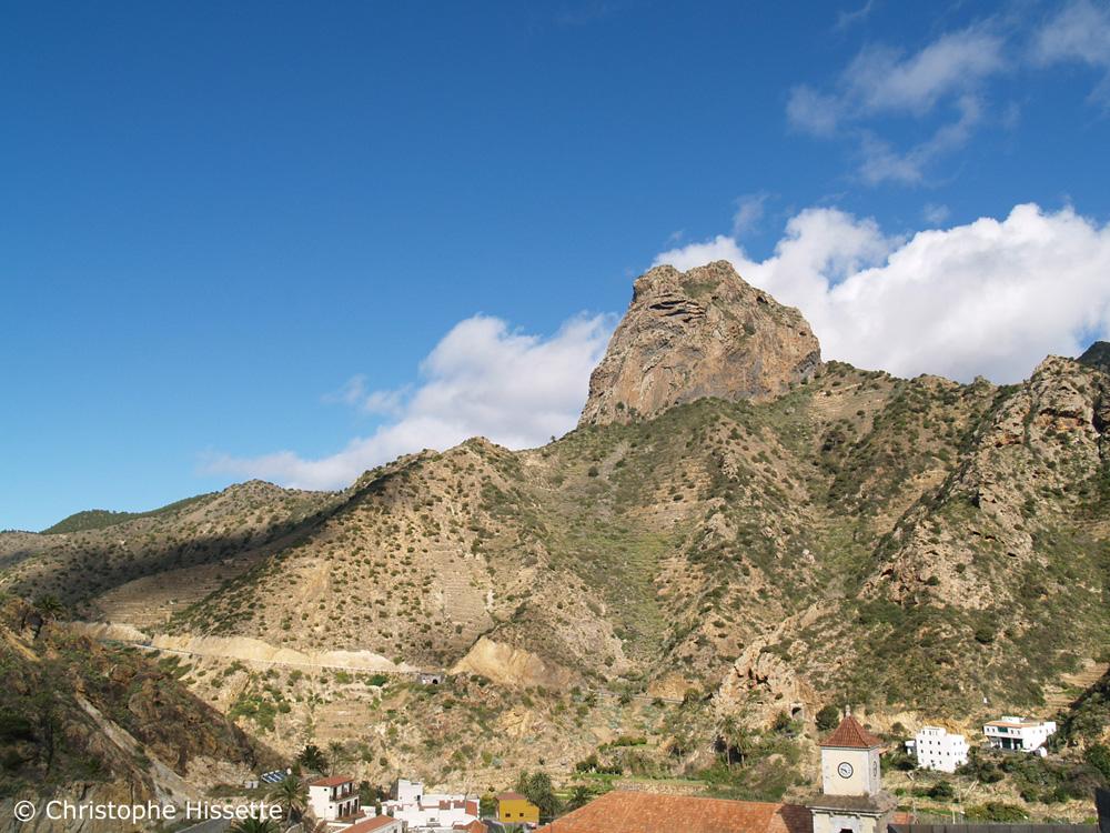 Roque El Cano Vallehermoso La Gomera