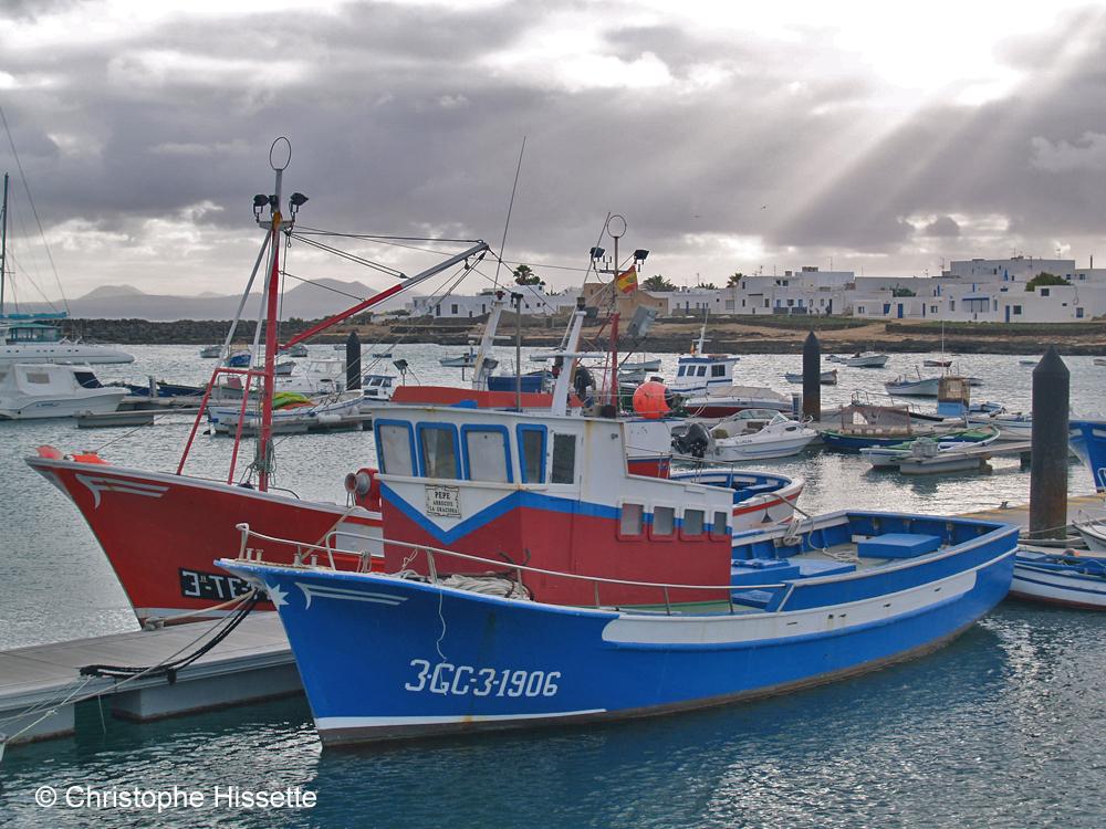 Bateaux de pêche, La Graciosa