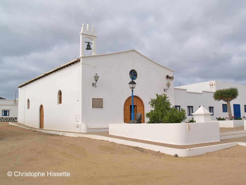 Iglesia de Nuestra Señora del Carmen, Caleta de Sebo, La Graciosa