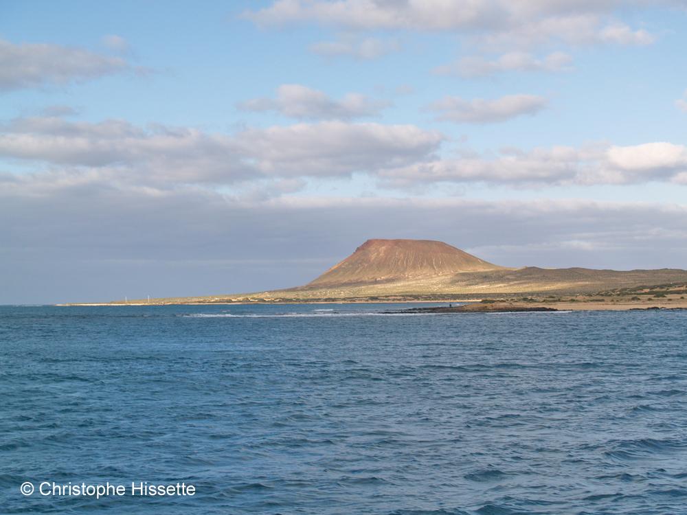 La Graciosaview from the sea