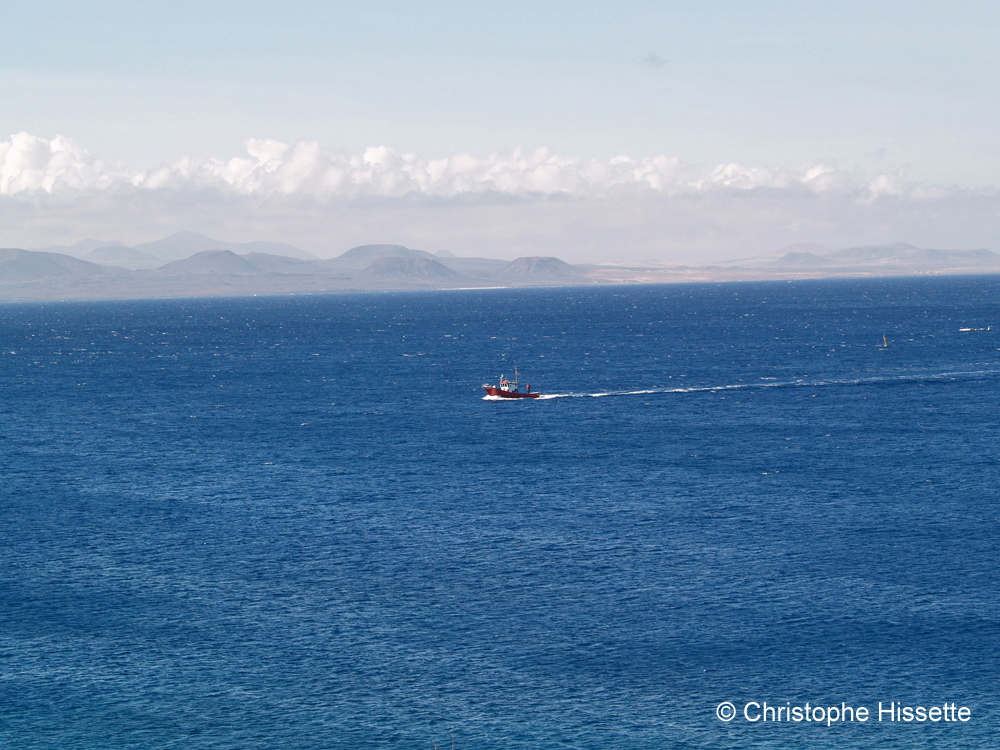 Petit bateau de pêche, Lanzarote