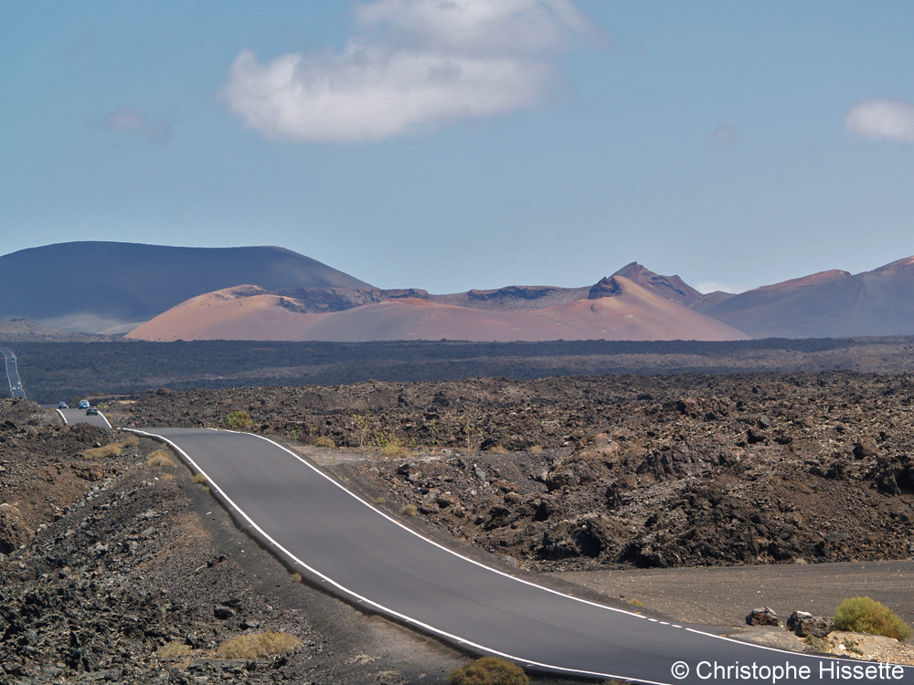 Timanfaya National Park road, Lanzarote