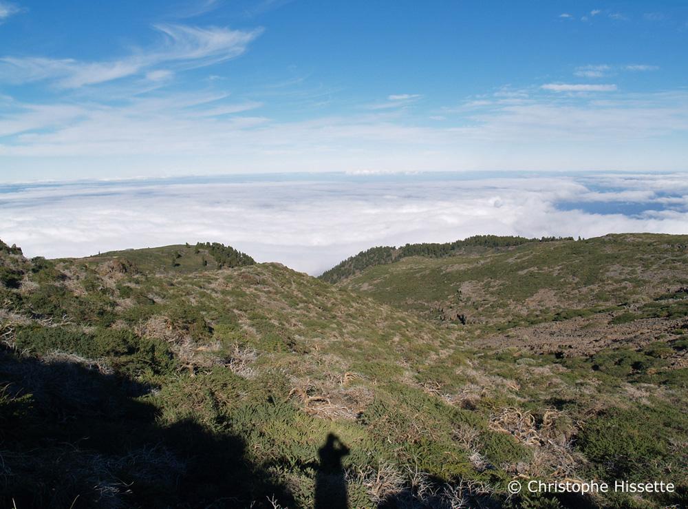 Horizon, Caldera de Taburiente National Park, La Palma
