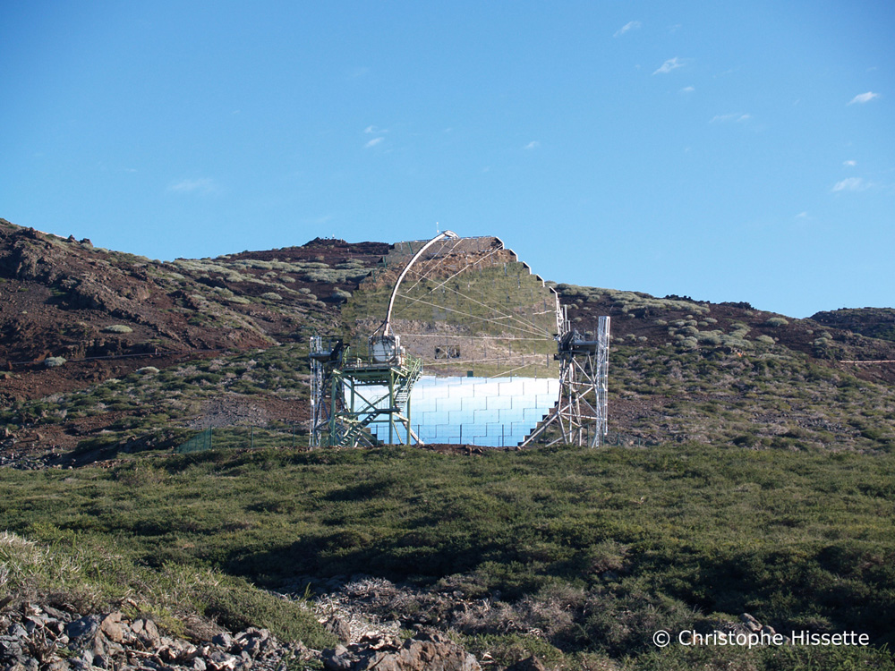 MAGIC Telescope, Caldera de Taburiente National Park, La Palma