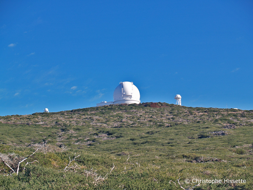William Herschel Telescope, Caldera de Taburiente National Park, La Palma