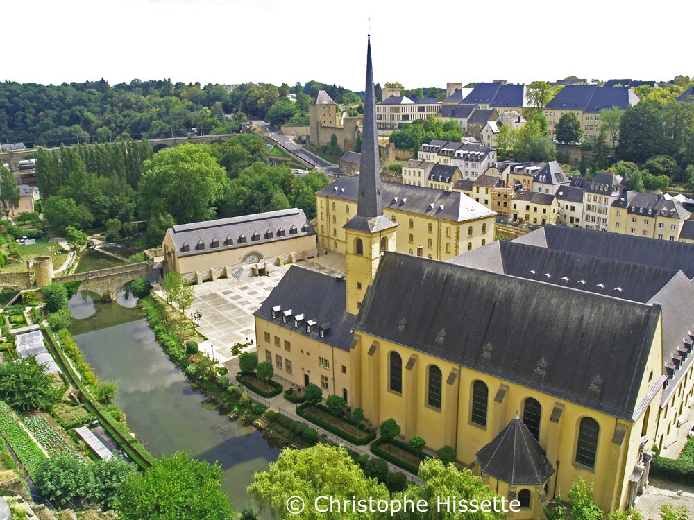 Neumünster Abbey (UNESCO World Heritage), Luxembourg City