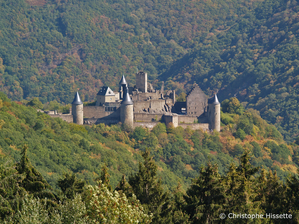 Bourscheid Castle, Bourscheid, Luxembourg
