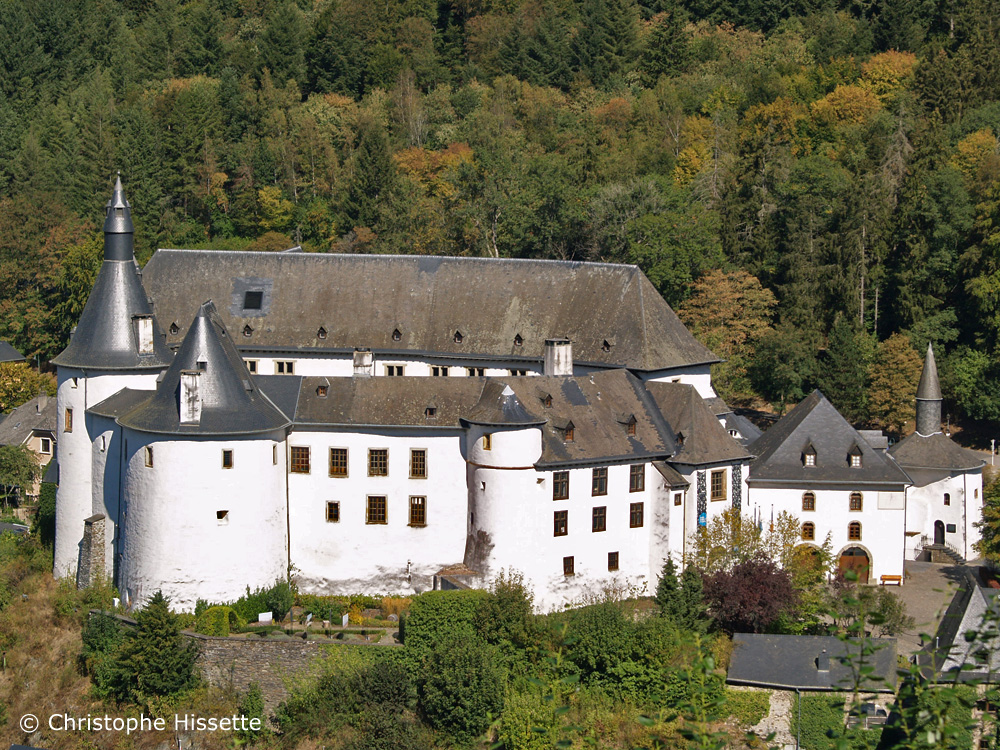 Clervaux Castle (place of the photography exhibition Family of Man, UNESCO World Heritage), Luxembourg