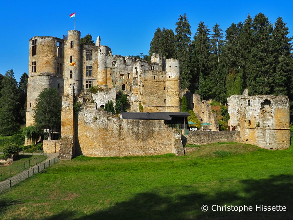 Château médiéval de Beaufort, Mullerthal, Luxembourg