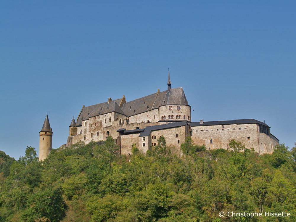 Château de Vianden, Vianden, Luxembourg