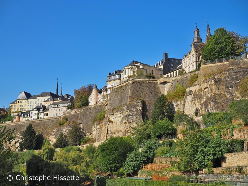 Chemin de la Corniche (Patrimoine Mondial de l'Unesco), Luxembourg-Ville