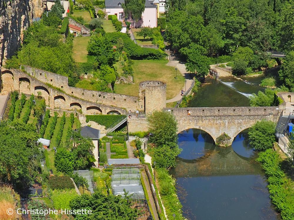 Stierchen Bridge (UNESCO World Heritage), Luxembourg City