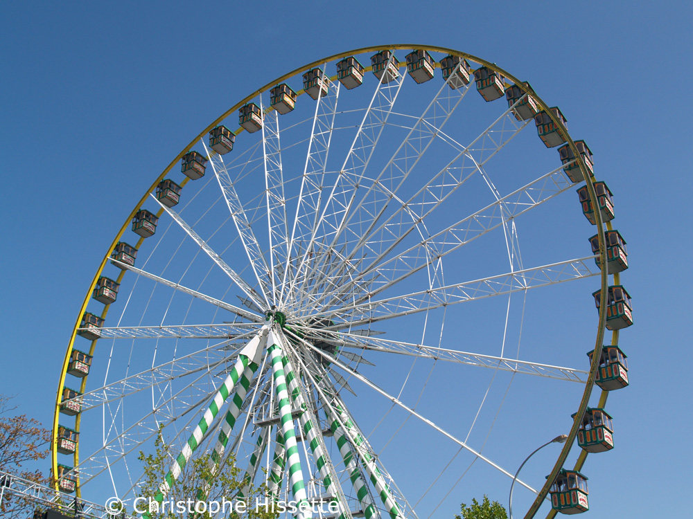 Ferris Wheel at the Schueberfouer funfair, Luxembourg City