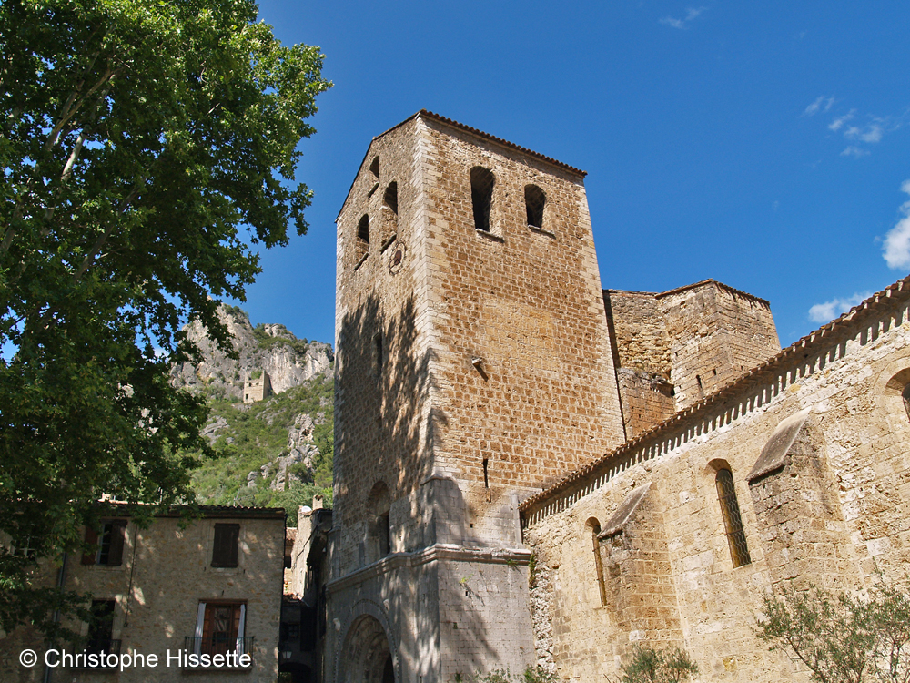 Church of the Abbey of Gellone (UNESCO World Heritage - Camino de Santiago), Saint-Guilhem-le-Désert, France
