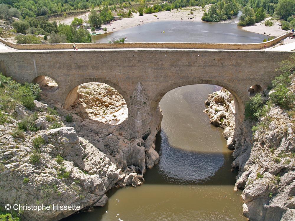 Pont du Diable (Chemin de Compostelle), Saint-Guilhem-le-Désert, France