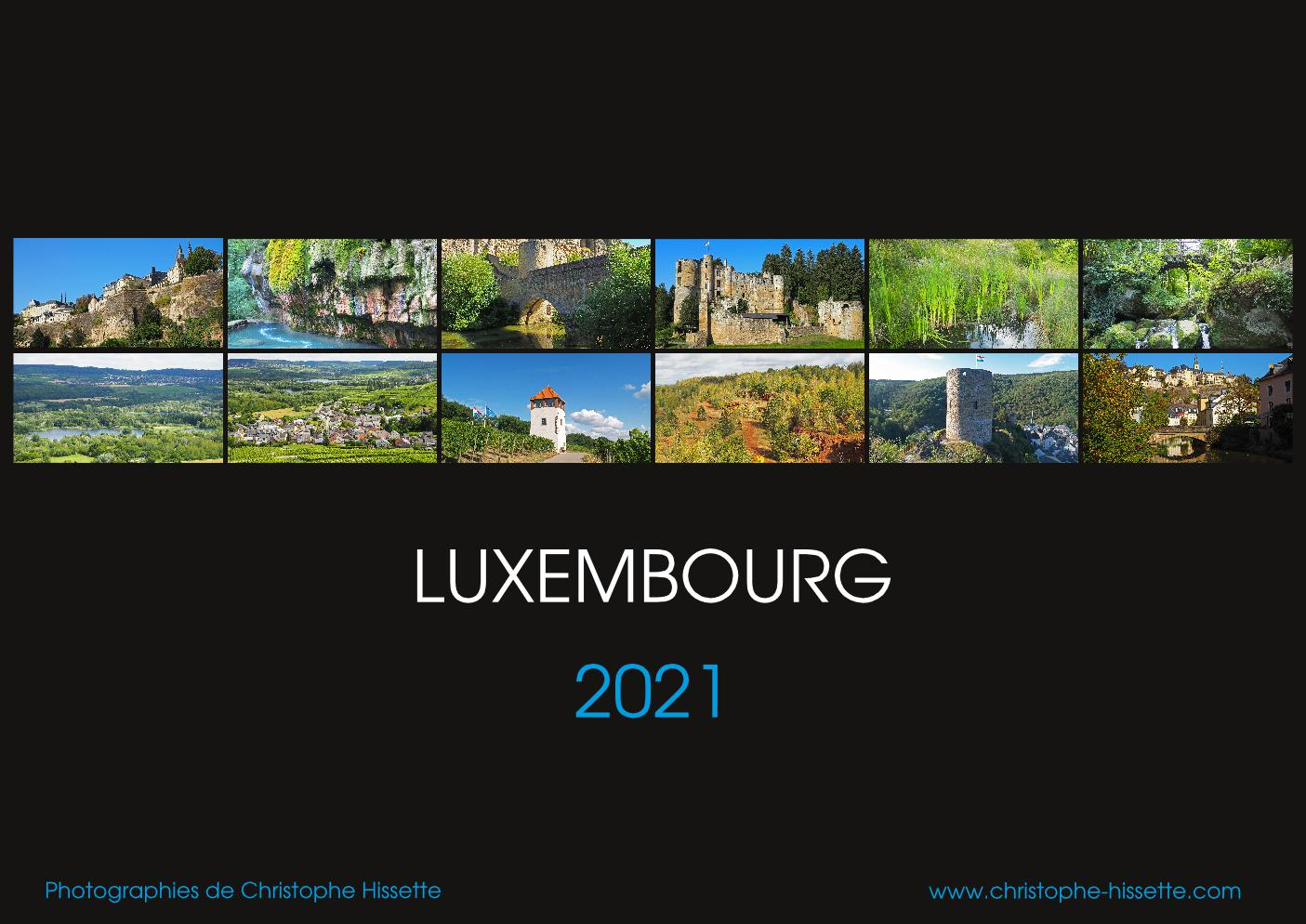 Calendrier Photo Luxembourg 2021