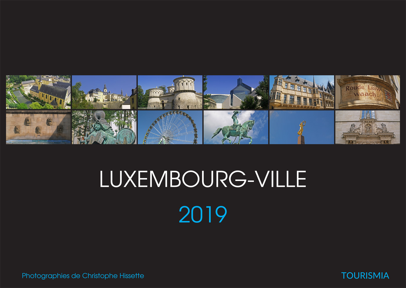 Calendrier Photo Luxembourg-Ville 2019