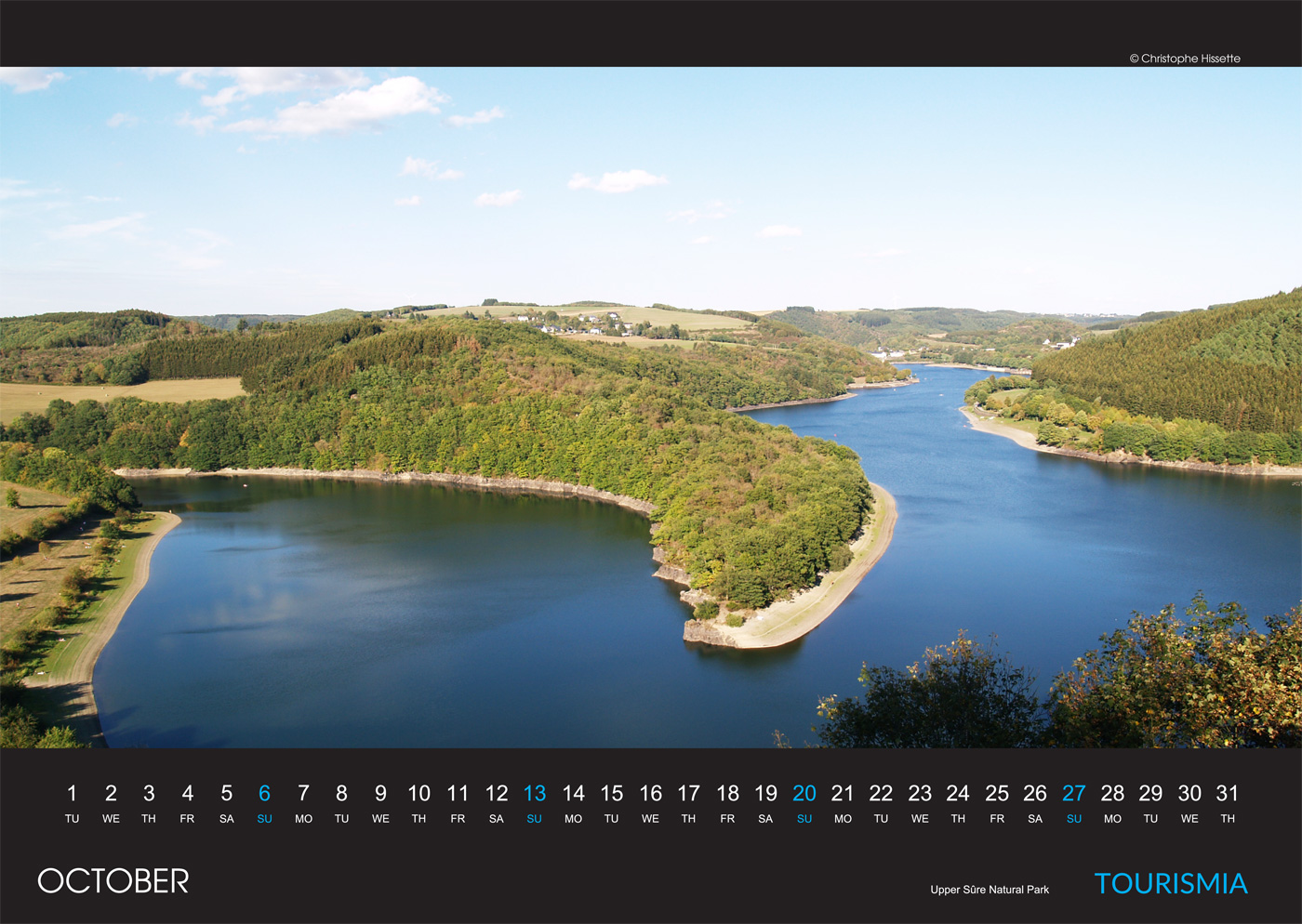 Photo Calendar Luxembourg 2019