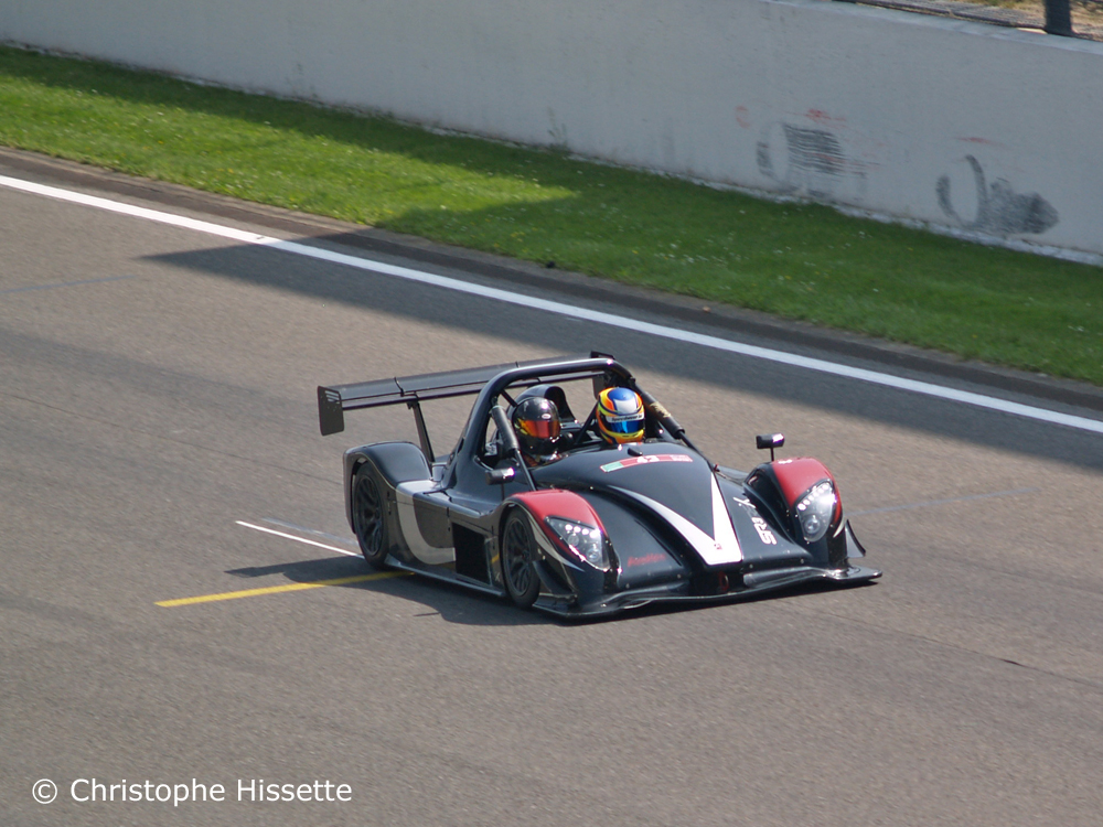 Radical SR3 RSX at the straight line