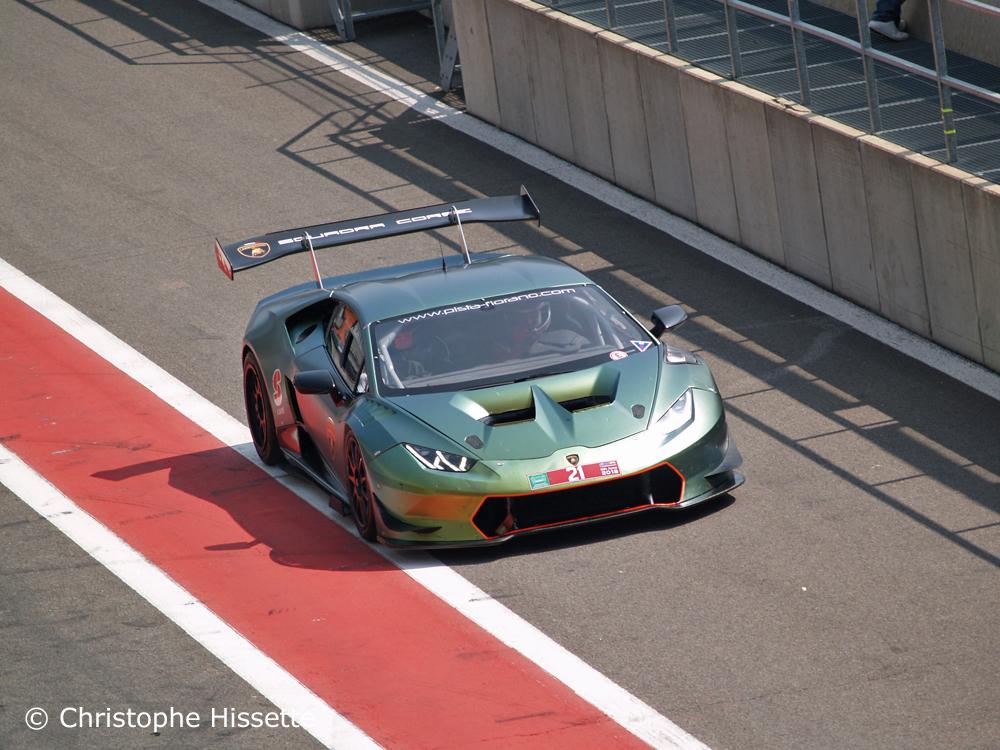 Lamborghini de retour dans les paddocks
