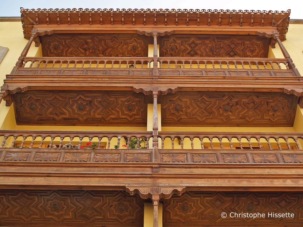 Balcons, San Cristóbal de La Laguna, Tenerife