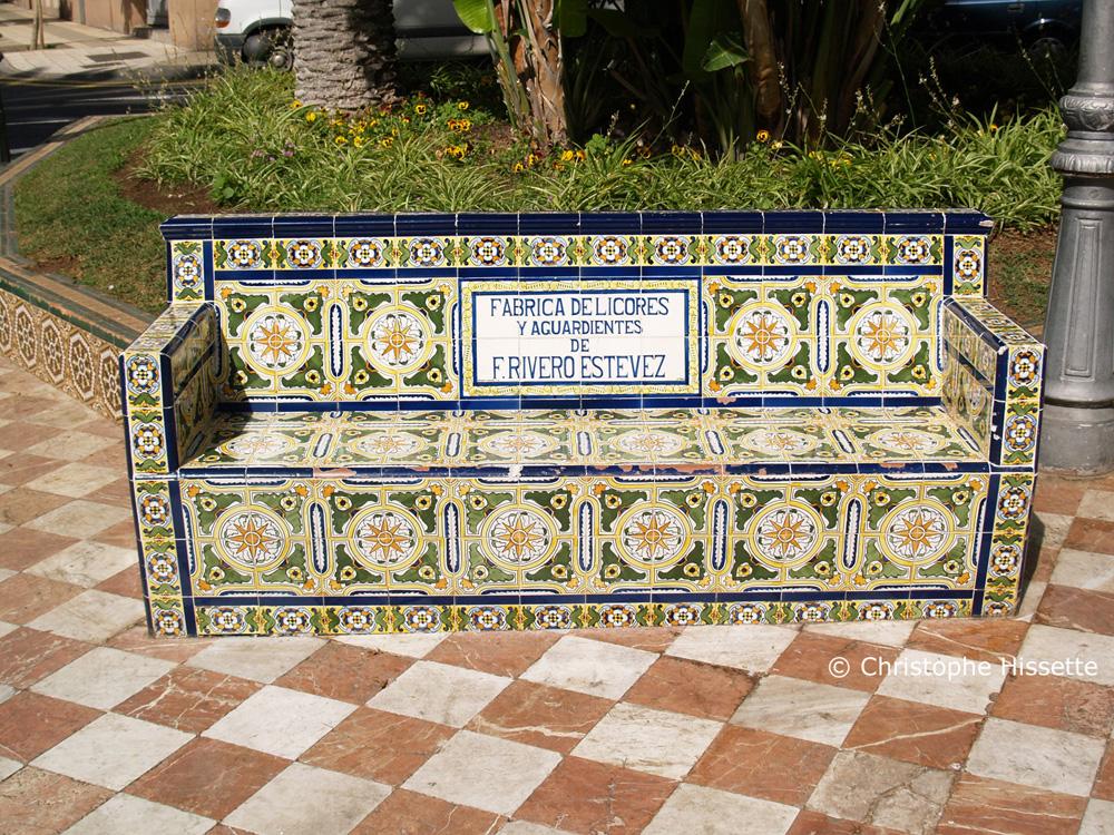 Bench, Santa Cruz de Tenerife