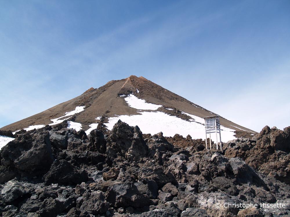 Pico del Teide (3718 mètres), Parc National du Teide, Tenerife