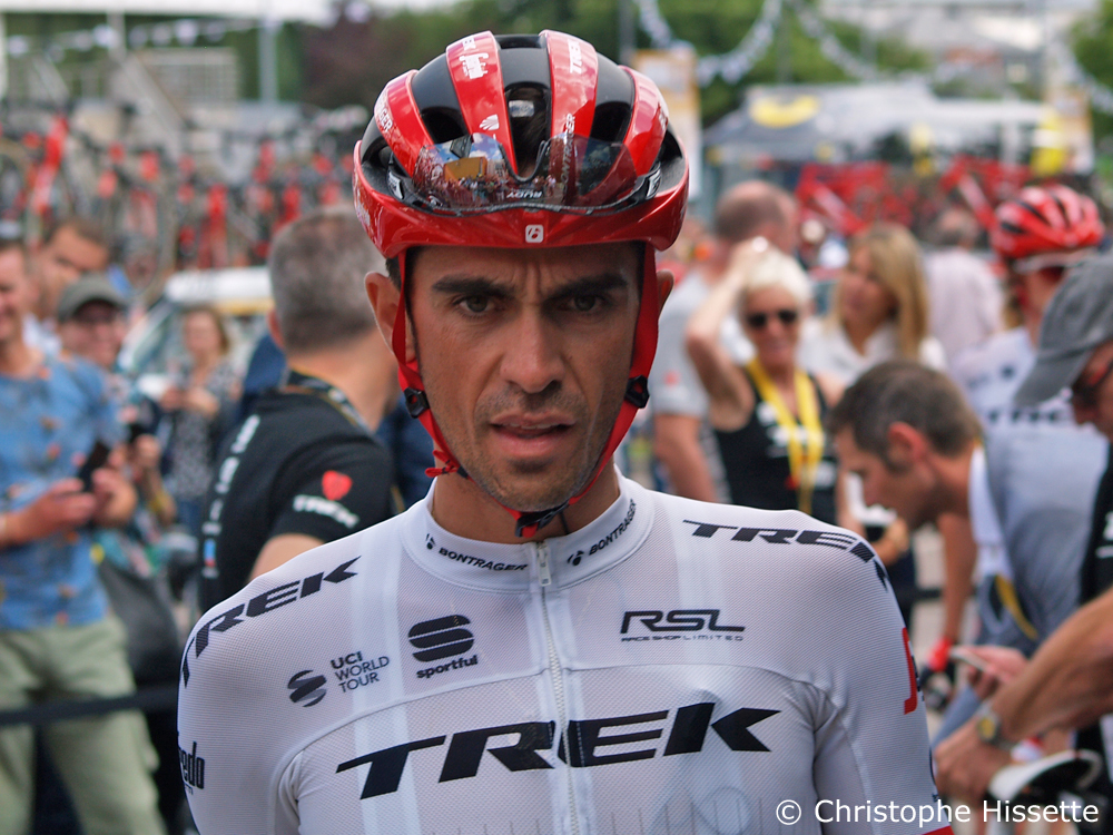 Alberto Contador - Stage Departure of the Tour de France 2017 in Mondorf-les-Bains (Luxembourg)