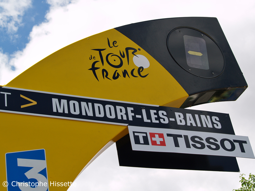 Stage Departure of the Tour de France 2017 in Mondorf-les-Bains (Luxembourg)