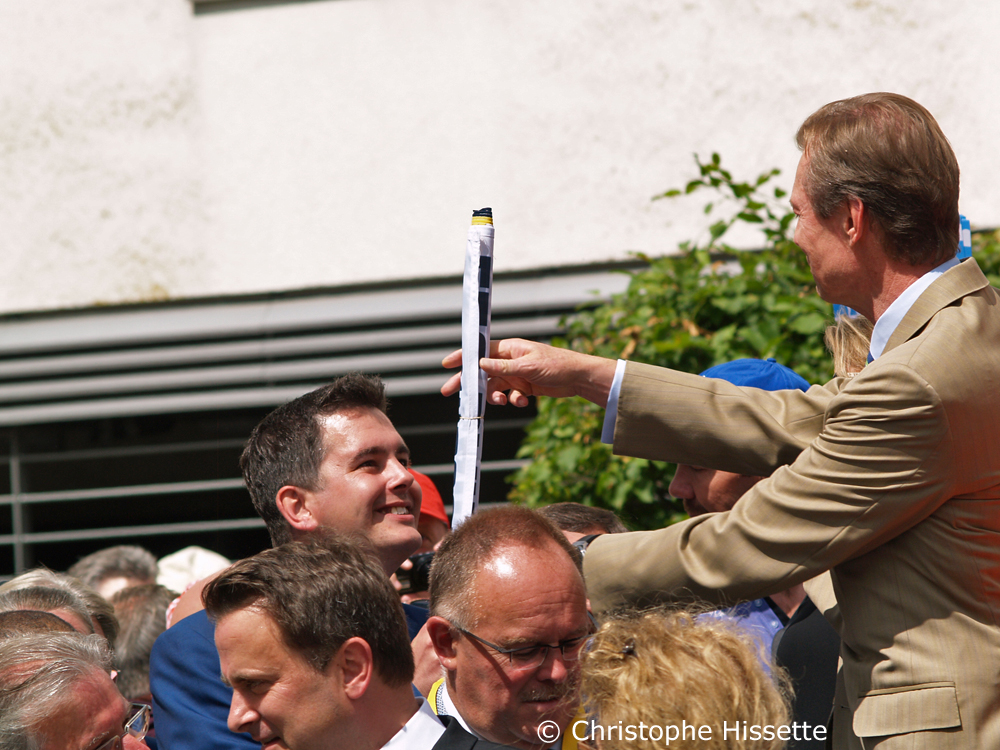 HRH The Grand Duke Henri - Stage Departure of the Tour de France 2017 in Mondorf-les-Bains (Luxembourg)