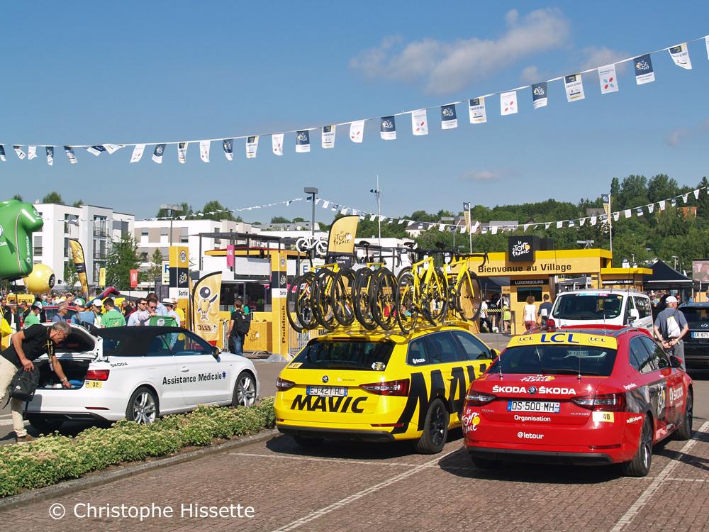 Village du Tour - Départ du Tour de France 2017 à Mondorf-les-Bains (Luxembourg)