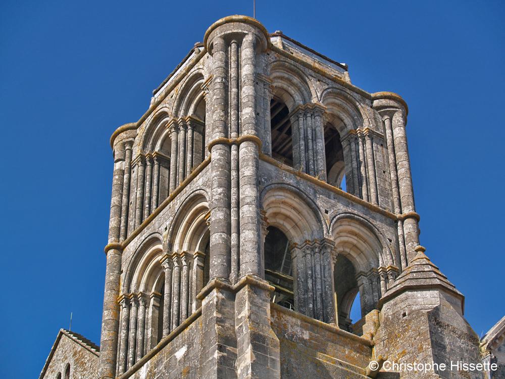 Tour Saint Antoine de la Basilique Sainte-Marie-Madeleine de Vézelay  (Patrimoine Mondial de l'Unesco - Chemins de Compostelle), Vézelay, France